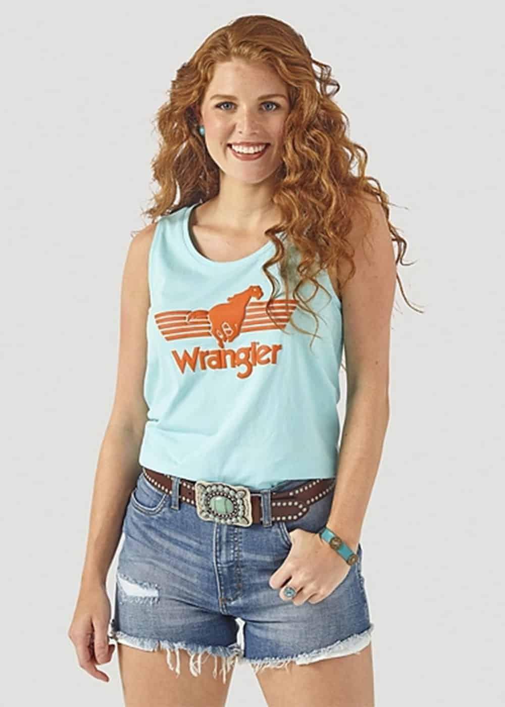wrangler tank cowgirl magazine