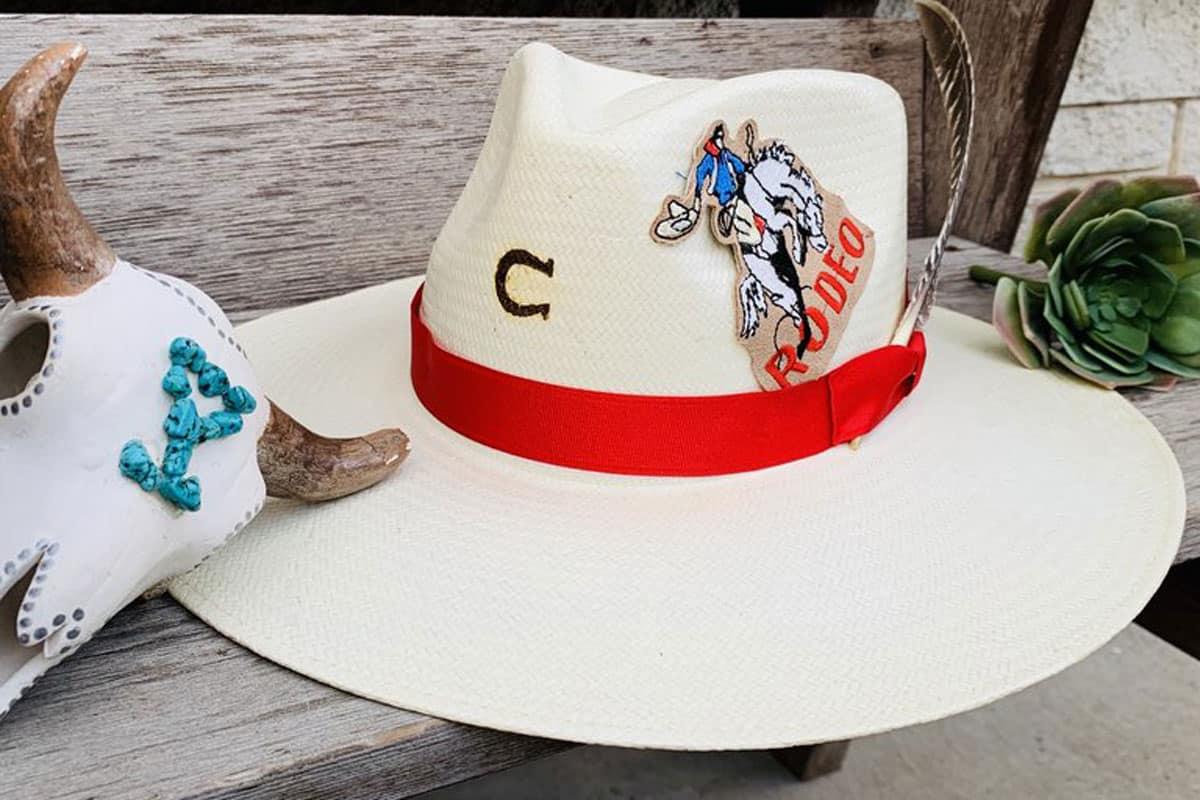 charlie 1 horse straw hat cowgirl magazine