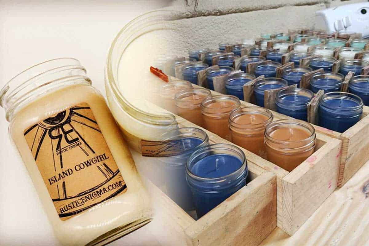 rustic enigma candle candles cowgirl magazine