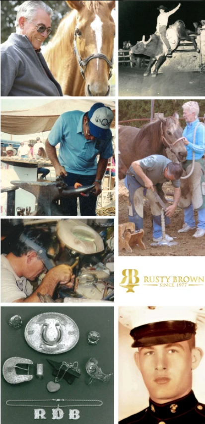 rusty brown cowgirl magazine