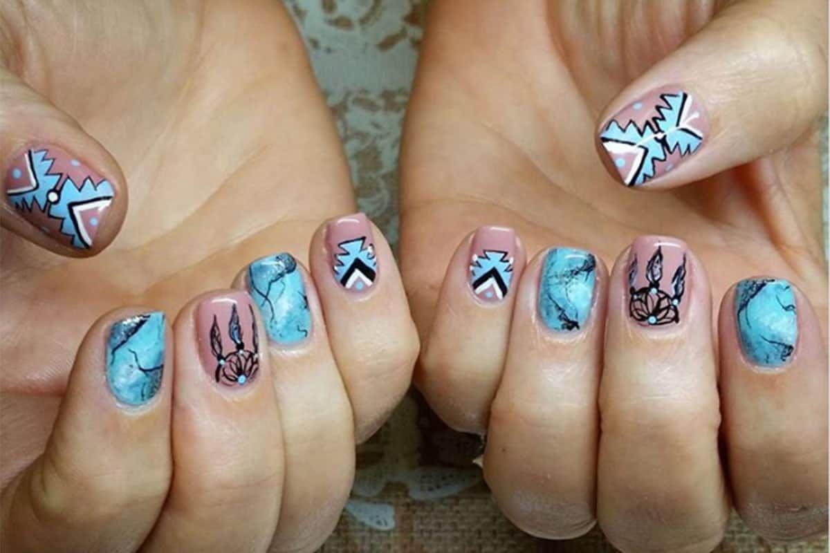 western nail art cowgirl magazine