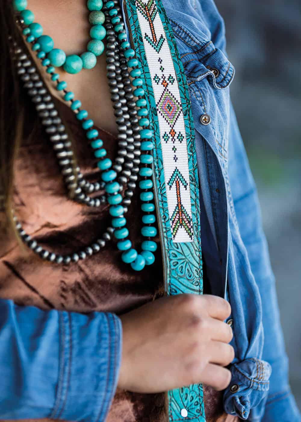 wild lace beadwork cowgirl magazine