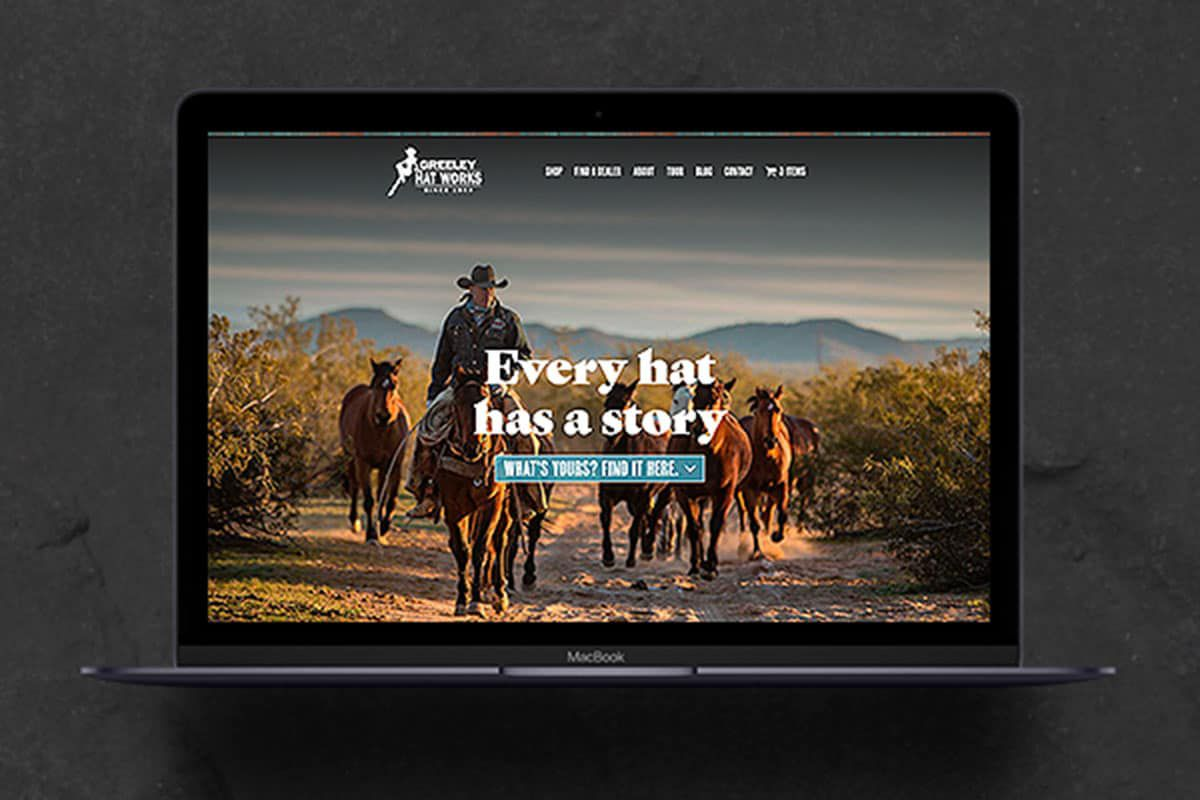greeley hat works' new website cowgirl magazine