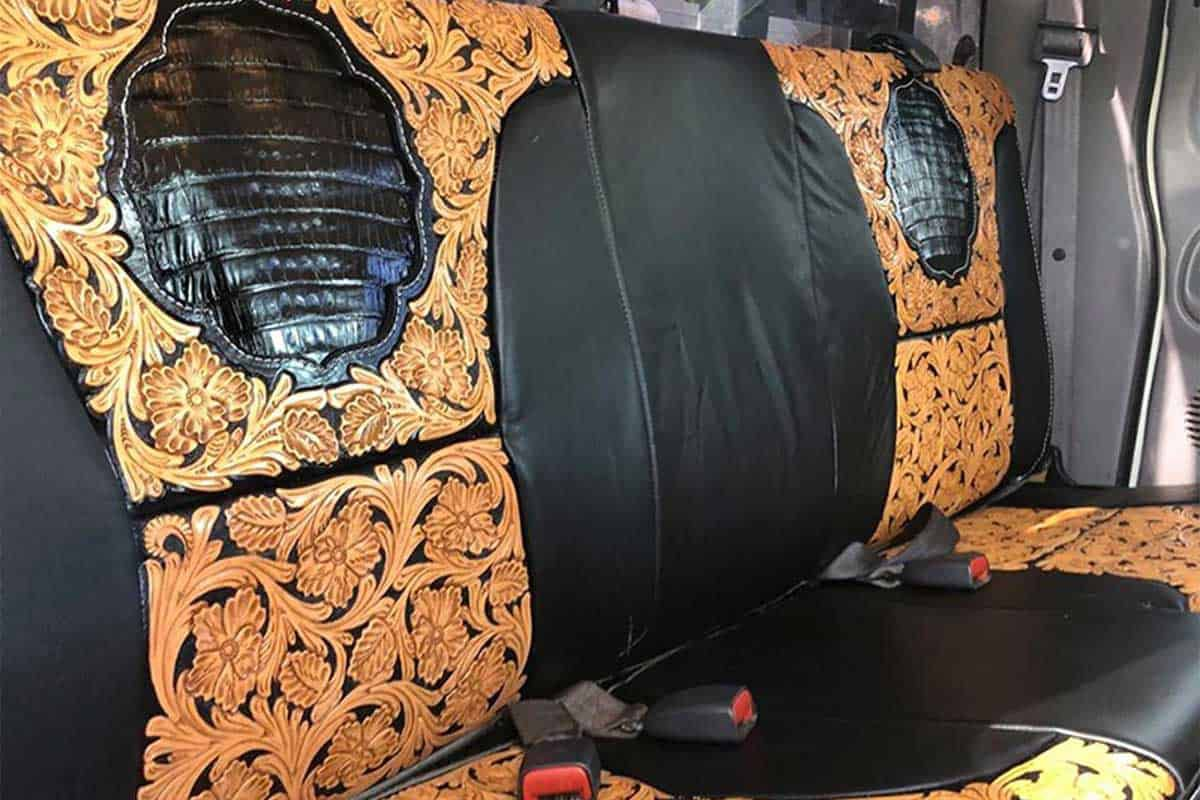 Mendoza leather sales leather seats custom leather seats leather seat cowgirl magazine
