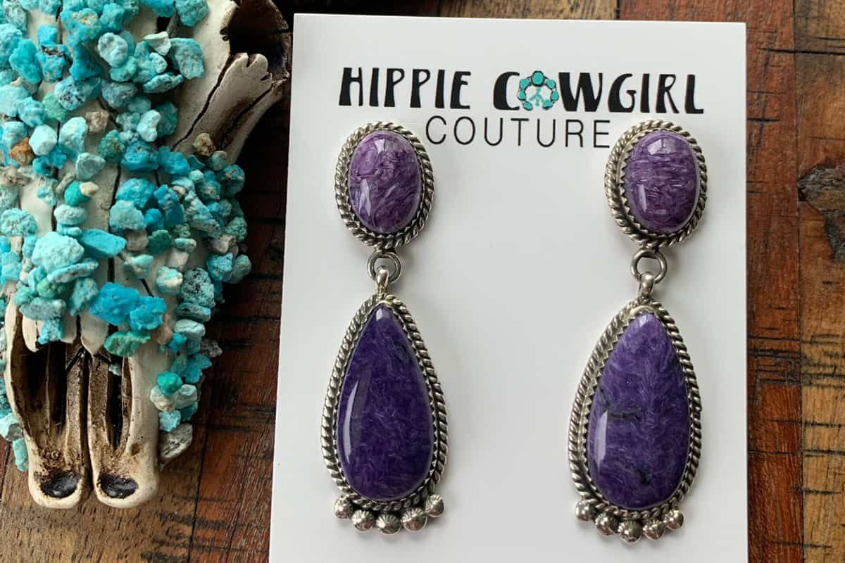 spiny oyster earrings Cowgirl Magazine