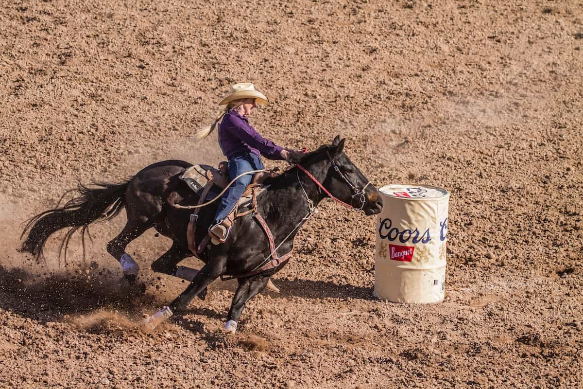 barrel horse cowgirl magazine