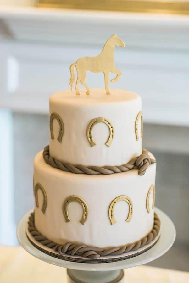 horseshoes cake cowgirl magazine