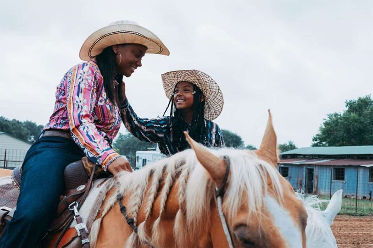 kanesha wrangler highlights black cowboys and cowgirls cowgirl magazine