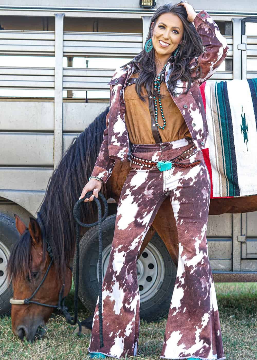 cowhide jeans cowgirl magazine