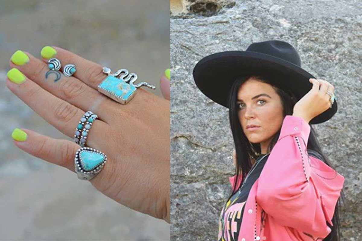 gypsy Jordy Mud Lowery turquoise jewelry Rachel Joi