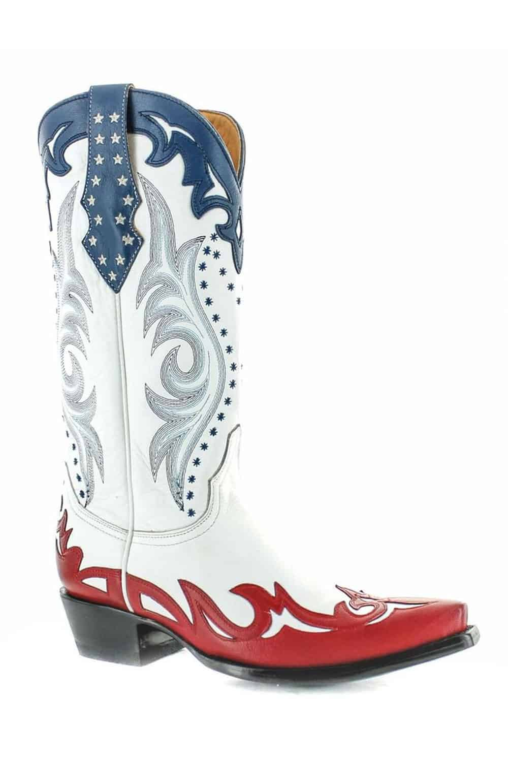 Red White And Blue Cowgirl Boots