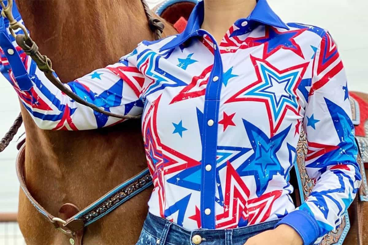 red white and blue looks cowgirl magazine