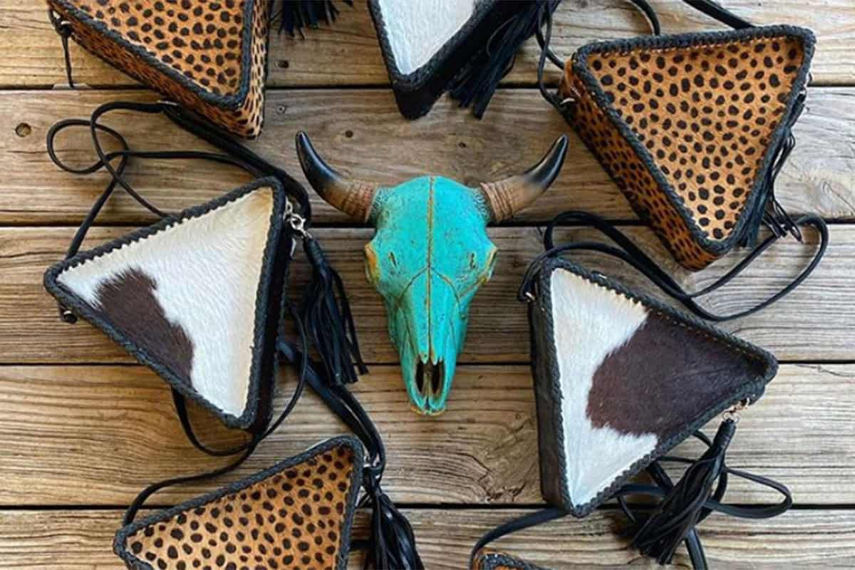 triangle bags cowgirl magazine