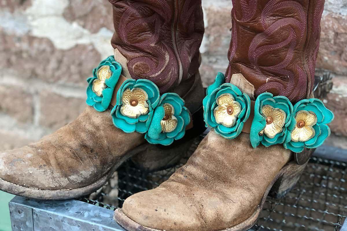 rail three ranch flowers cowgirl magazine