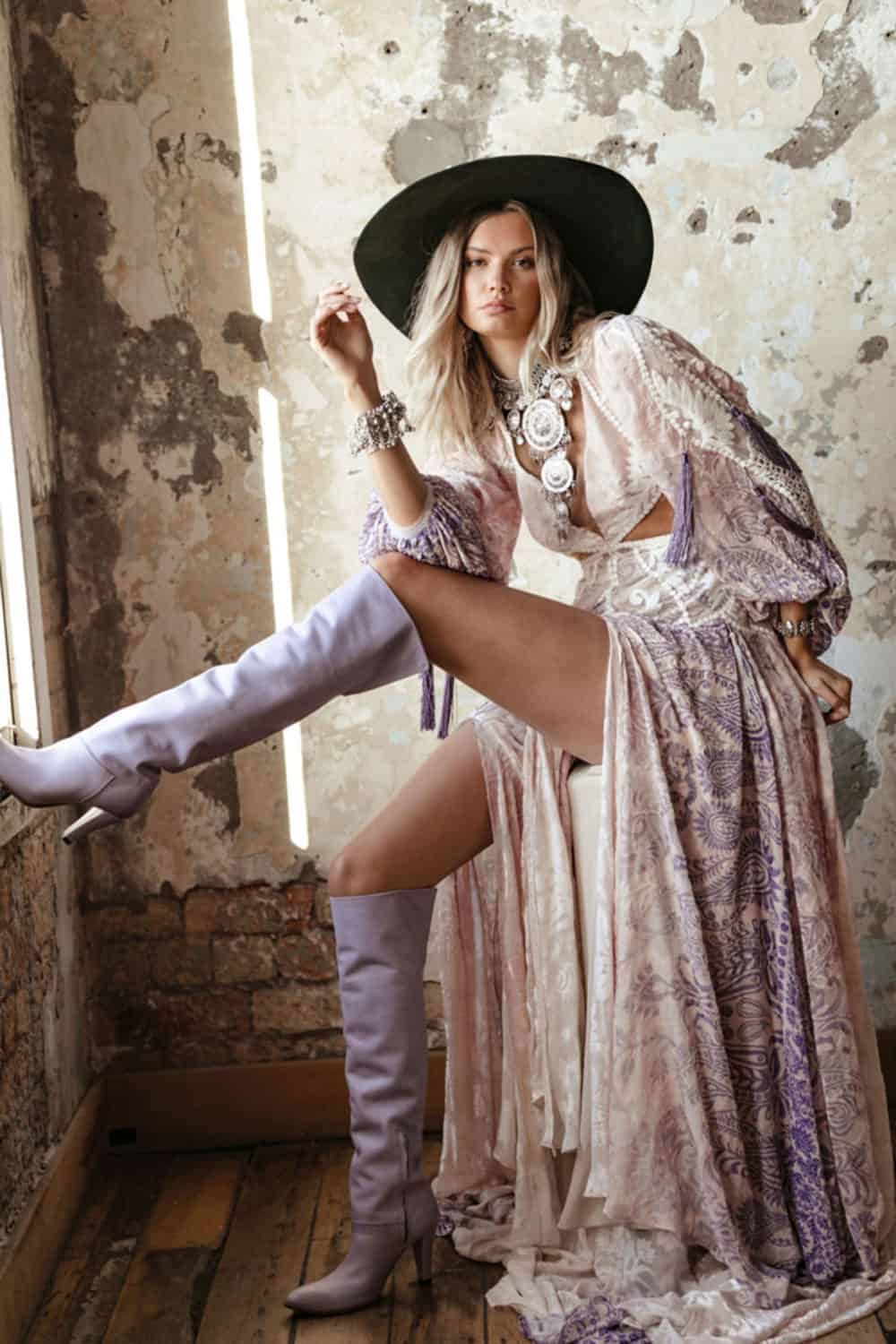 rue de seine new collection cowgirl magazine