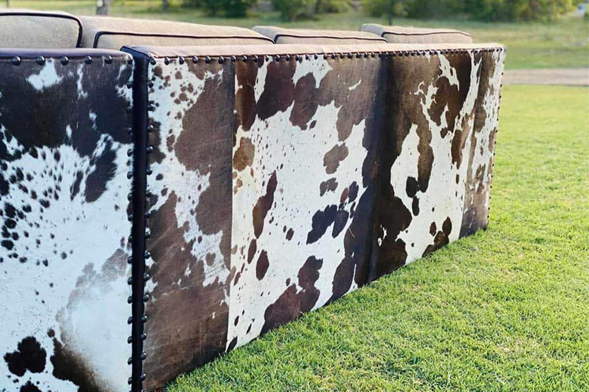 rusty diamond designs couch western furniture home decor cowgirl magazine