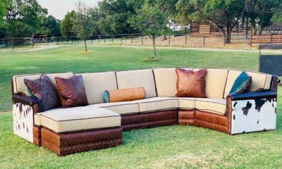 rusty diamond designs couch western furniture home decor cowgirl magazine