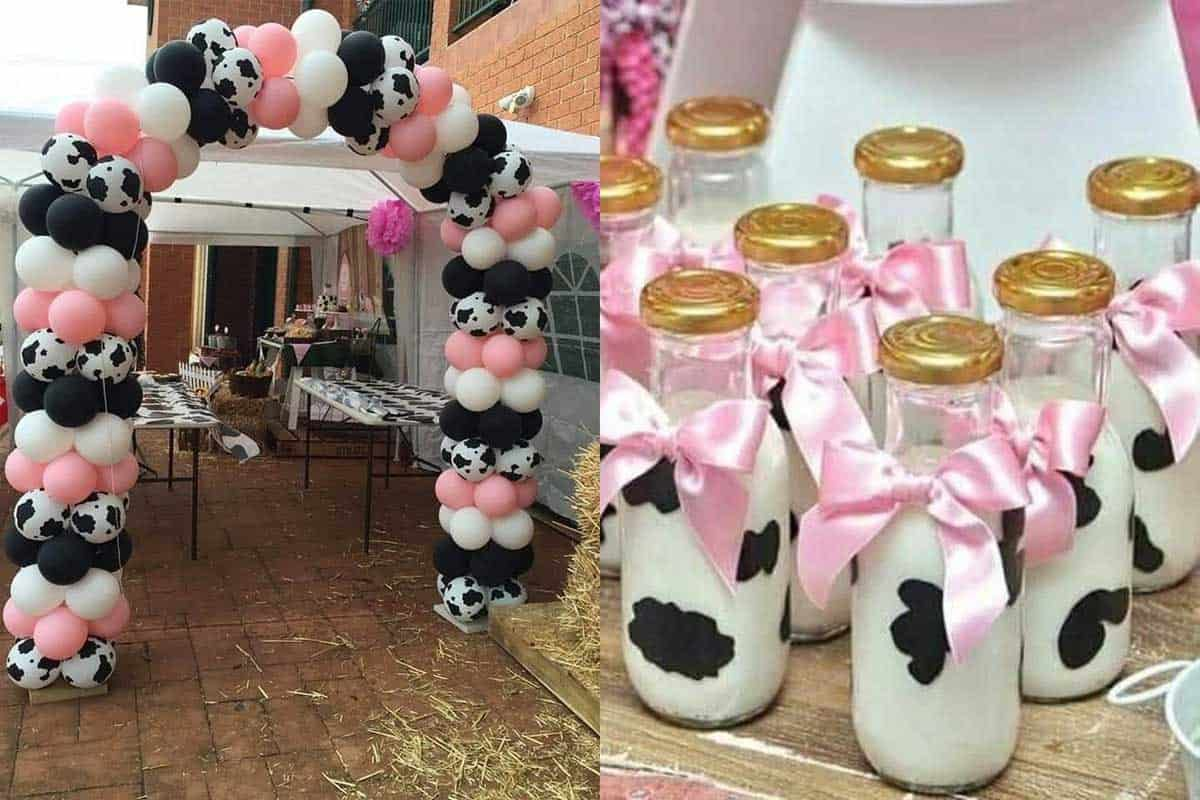 cow party moo cowgirl magazine birthday