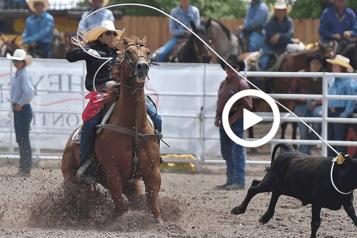 jordan jo fabrizio cheyenne frontier days breakaway roping cowgirl magazine