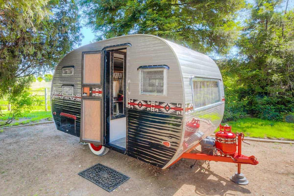 vintage Pendleton trailer rv travel cowgirl magazine