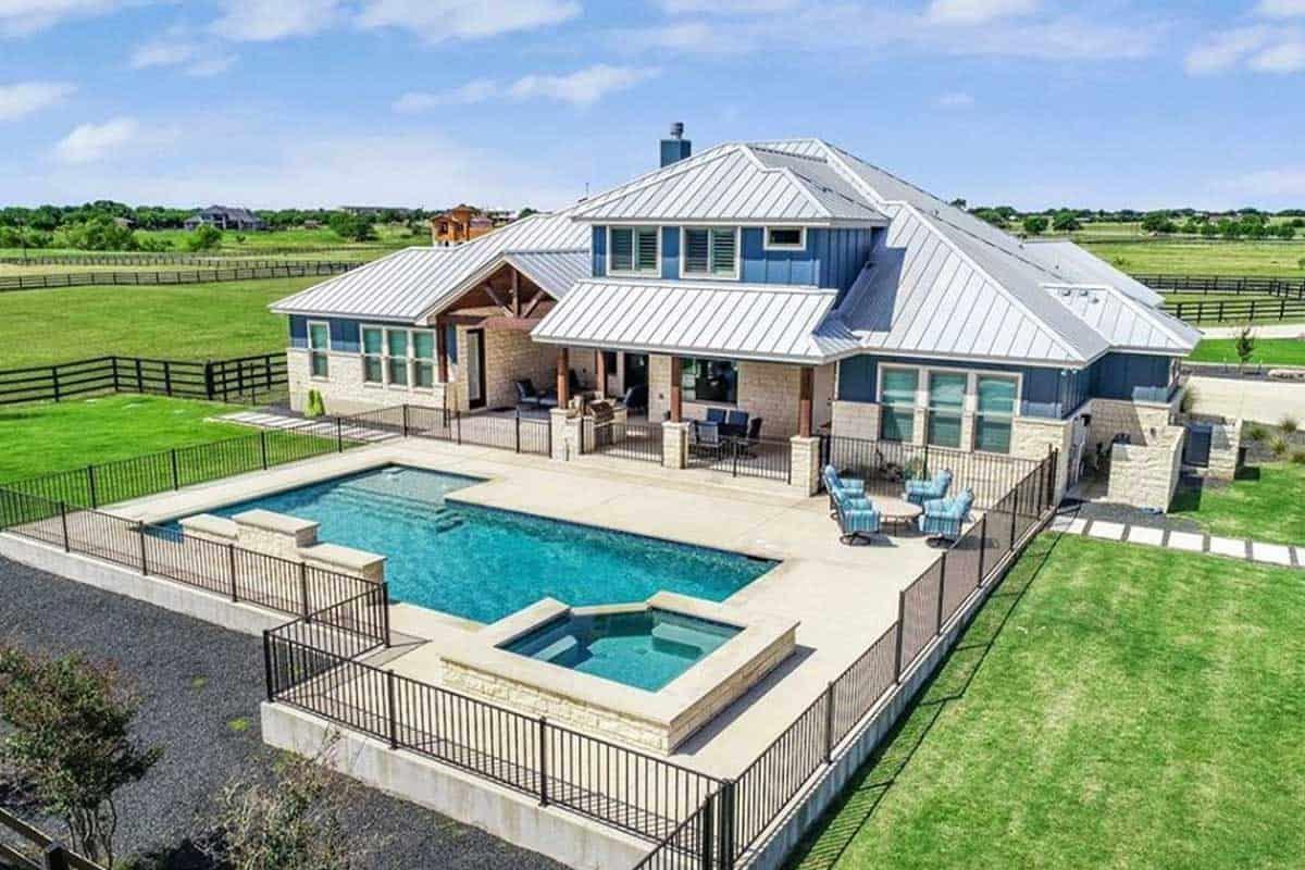 ranch barn pool ranch pool paradise cowgirl magazine