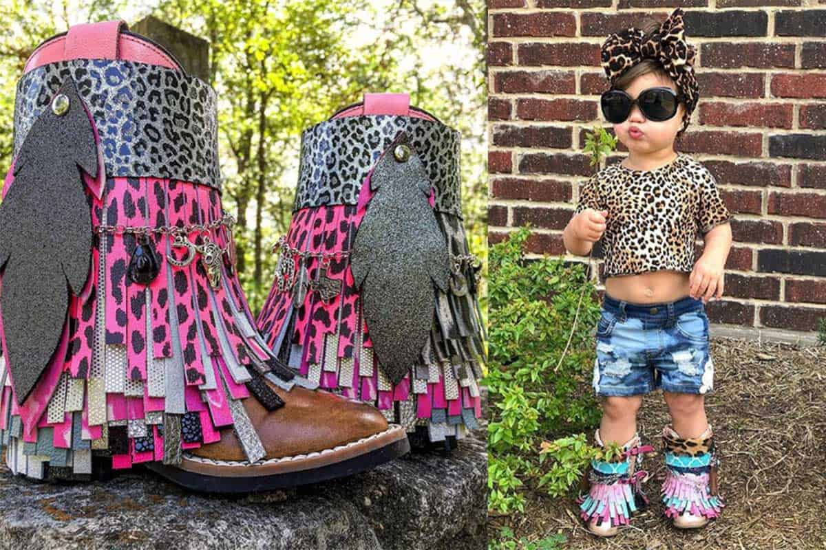southern sass and fringe boots little girl cowgirl magazine