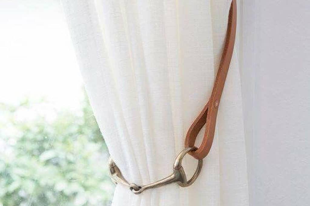 curtain holder horse bit cowgirl magazine
