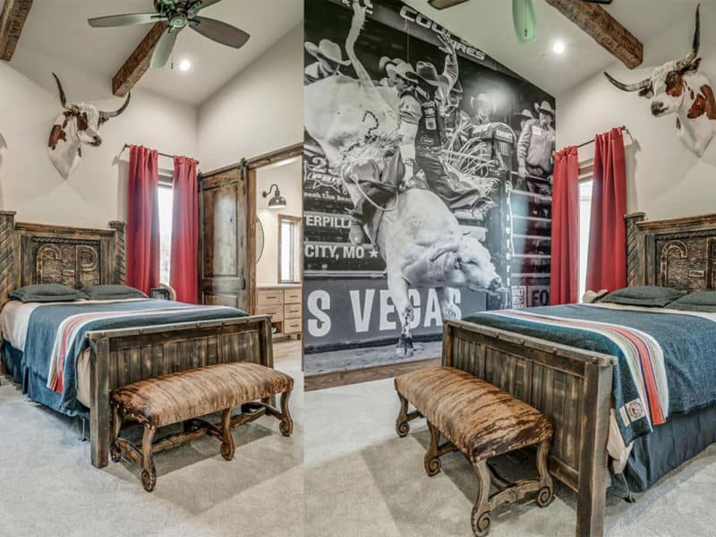bull rider bedroom cowgirl magazine