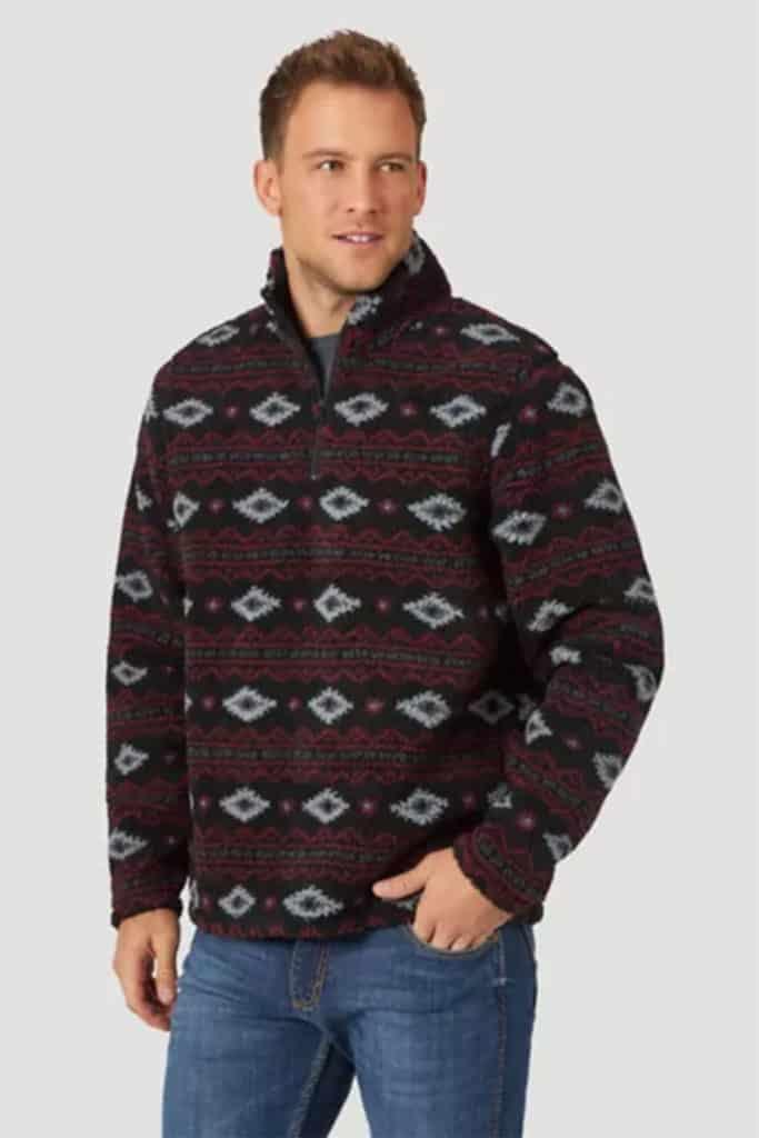 wrangler pullover sweatshirt cowgirl magazine