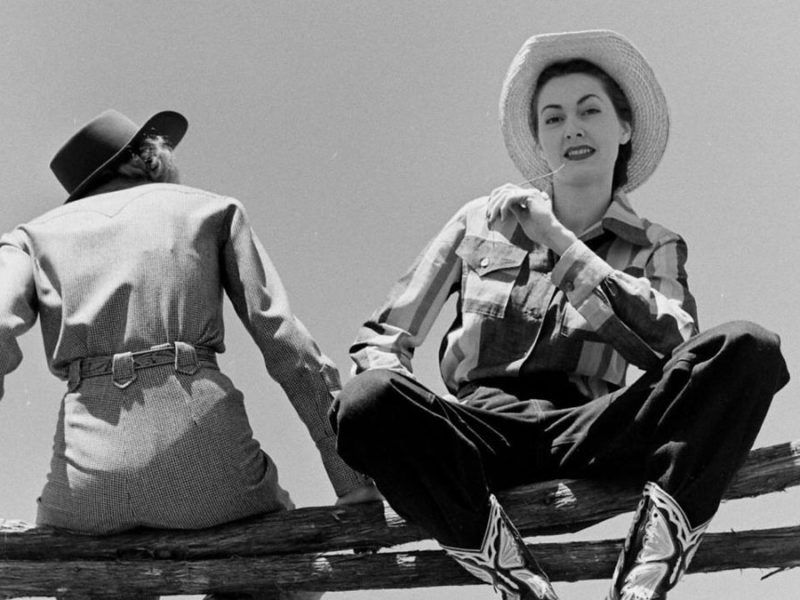vintage western wear cowgirl magazine