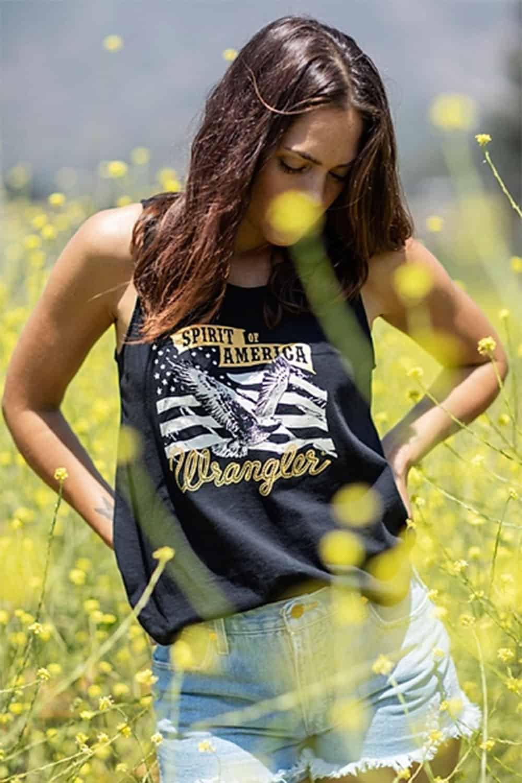 wrangler top cowgirl magazine