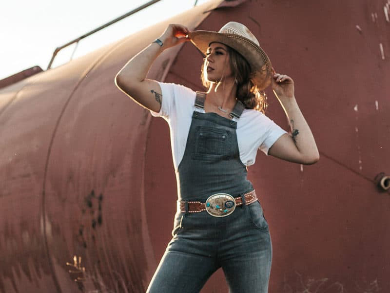 shaley ham denim collab cowgirl magazine