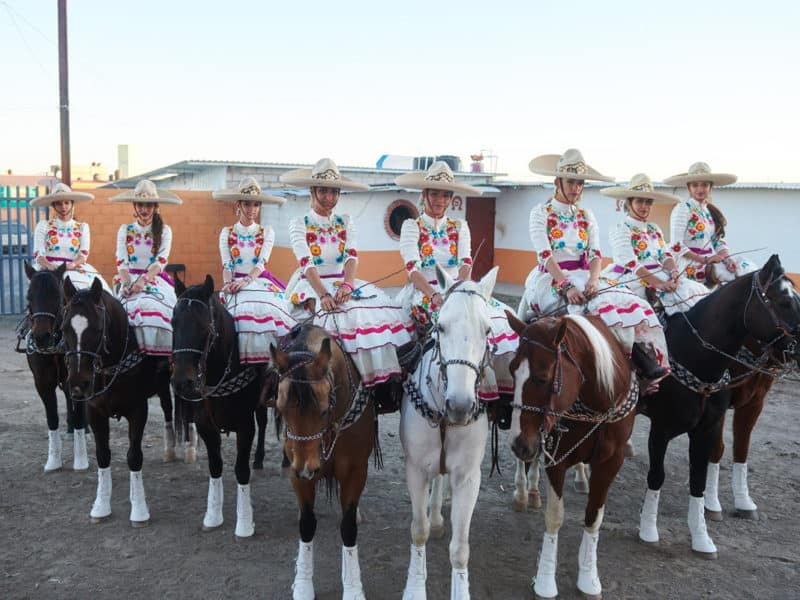 escaramuza mexican rodeo sport female cowgirl magazine