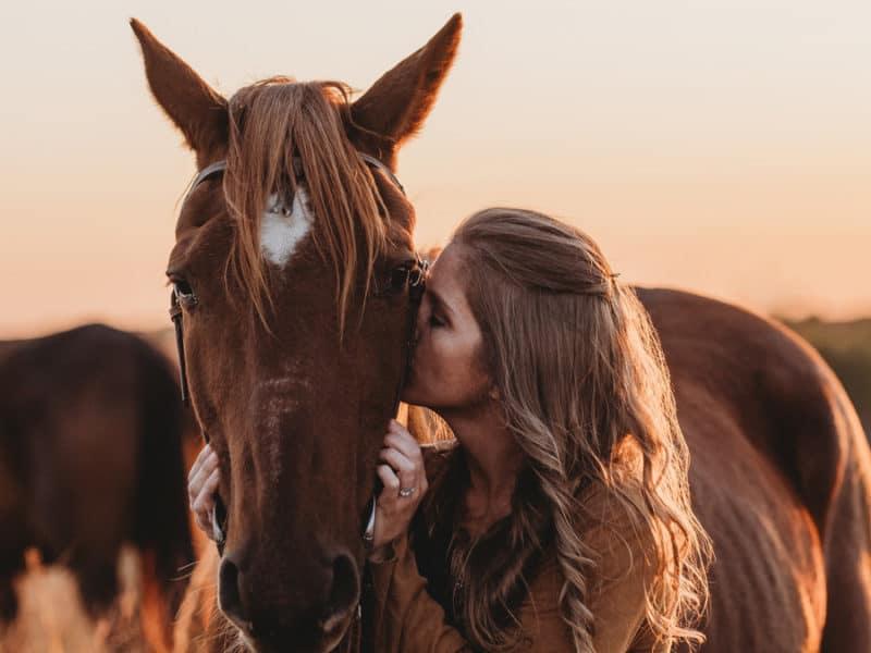 rescue horse goodbye photoshoot cowgirl magazine