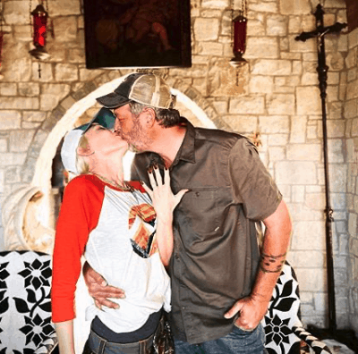 Blake Shelton Gwen Stefani engaged