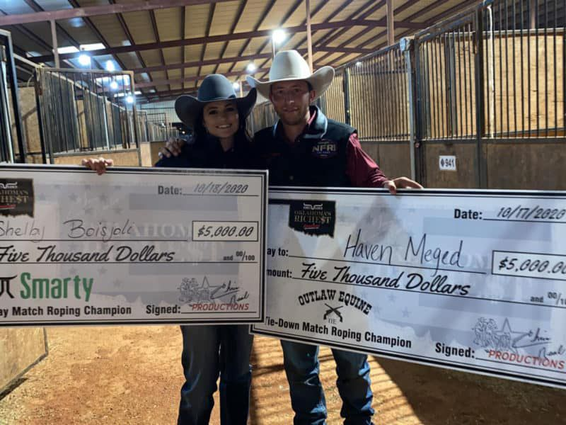 Rodeo's new couple - Shelby & Haven - NFR- Halloween - Cowgirl Magaizine