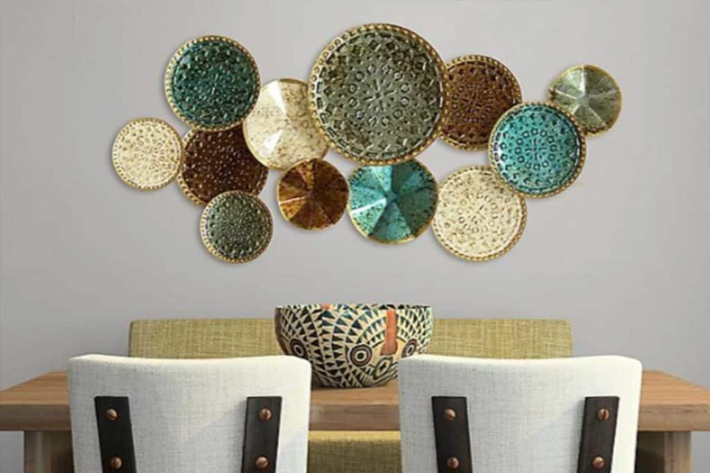 basket wall plate wall home decor cowgirl magazine