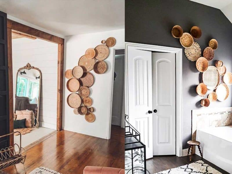 basket wall home decor home trends cowgirl magazine