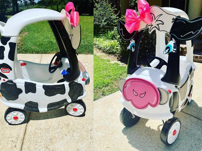 kids cow car cowgirl magazine