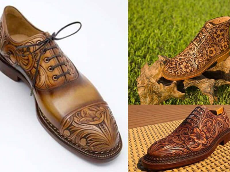 Tooled Mens Shoes Take The Cake cowgirl magazine