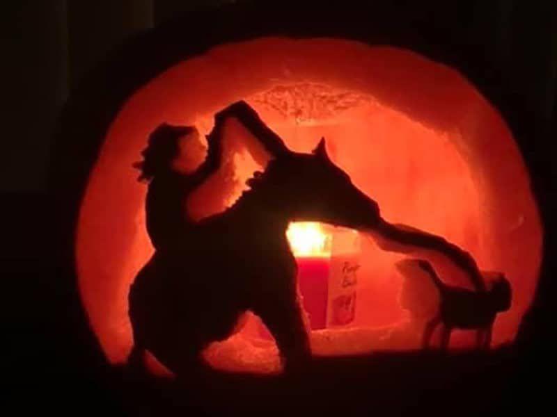 Pumpkin Carving - Happy Halloween - Cowgirl - Cowgirl Magazine - Cowgirl Halloween - Hallowen