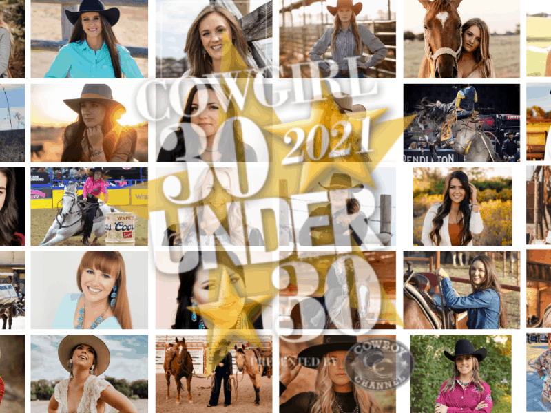 cowgirl 30 under 30 2021 results cowgirl magazine