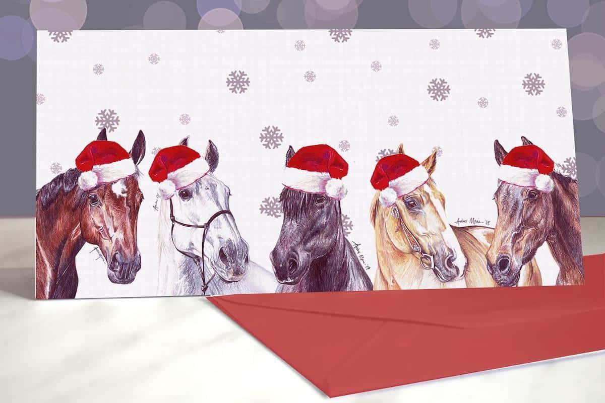 horse santa cowgirl magazine