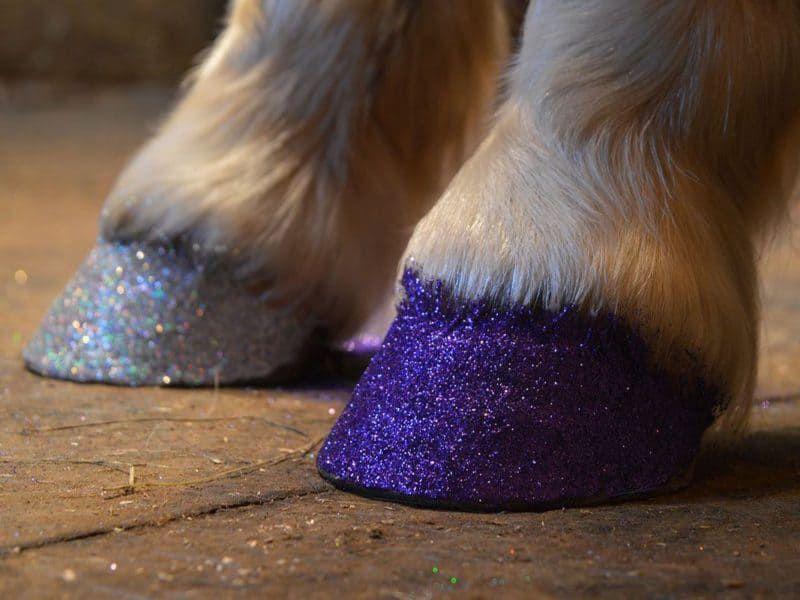 DIY glitter cowgirl magazine