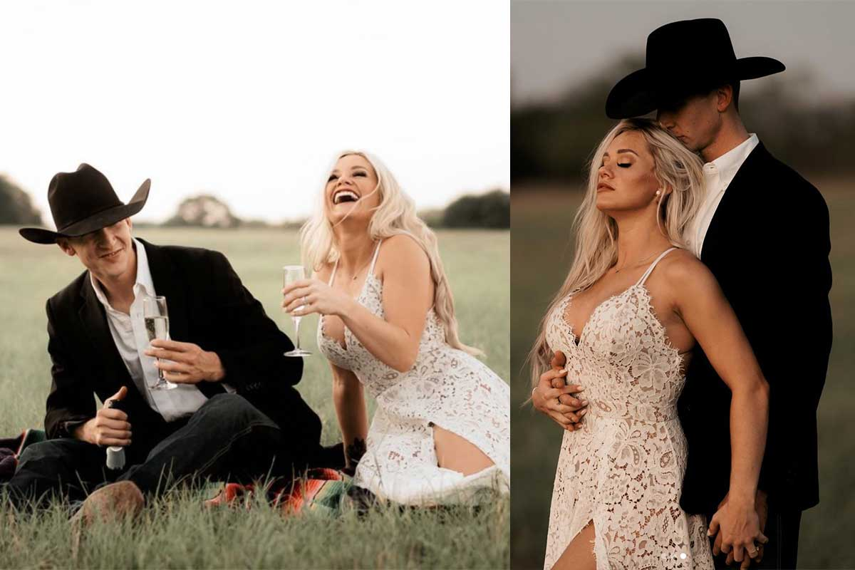 fun engagement photos engage engaged cowgirl magazine