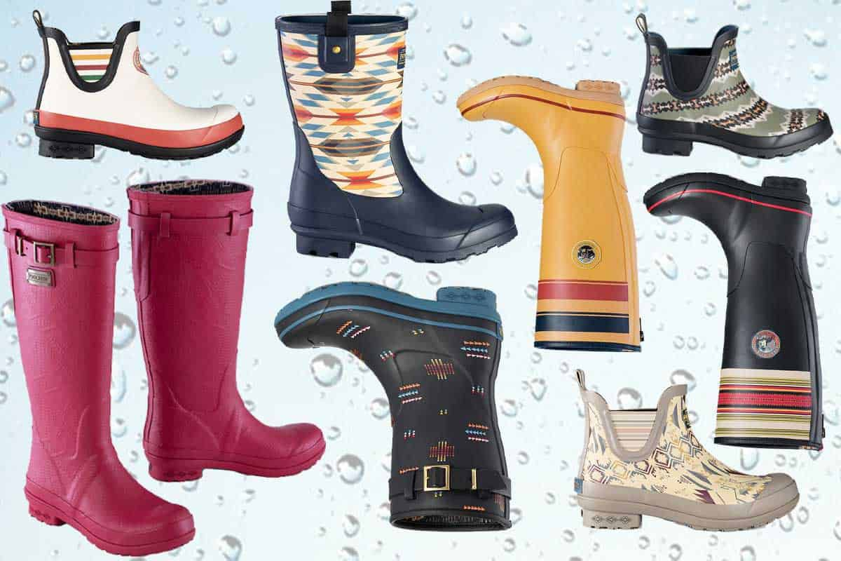 pendleton rain boot pendleton rain boots cowgirl magazine