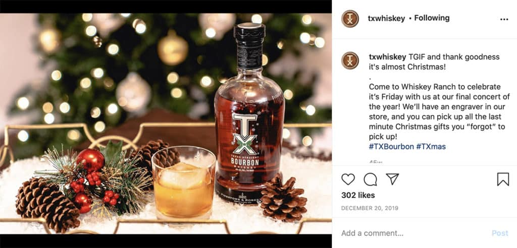 tx whiskey - Holiday cheer - cocktails - tis the season