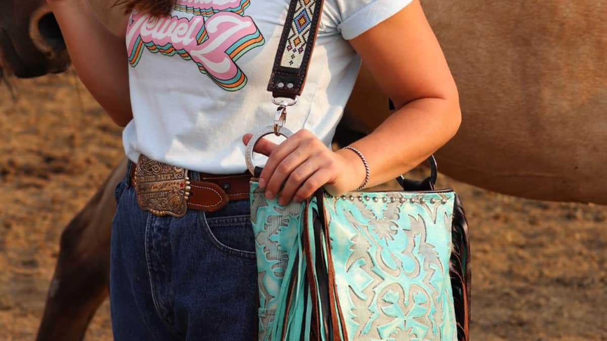 wild lace beadwork western purses handmade custom cowgirl magazine