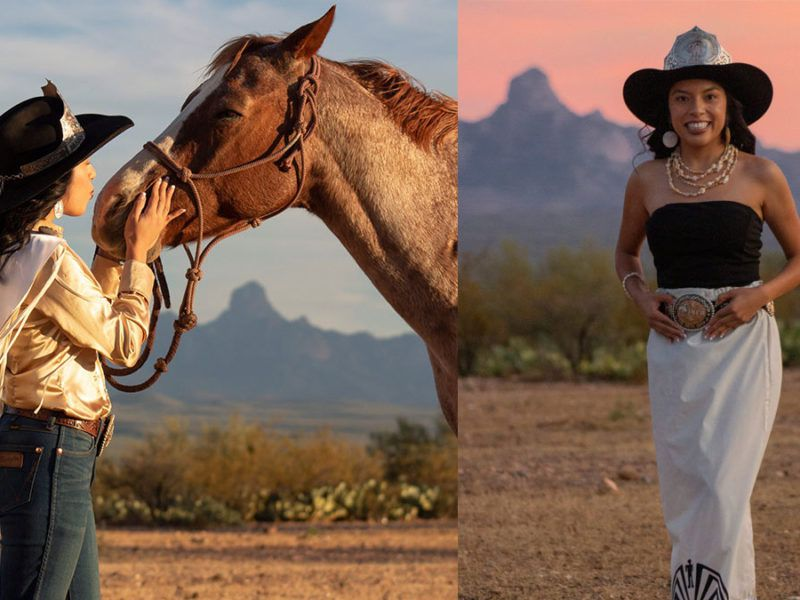 miss indian rodeo wrangler