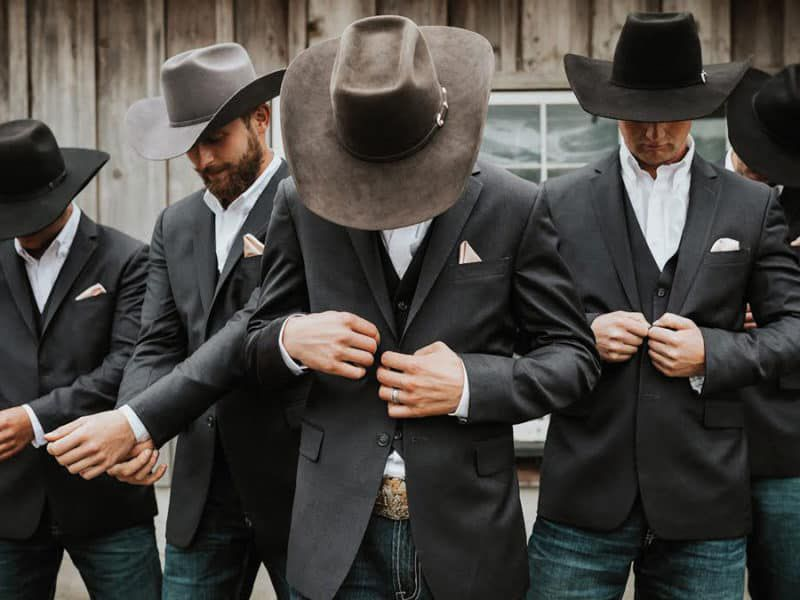 groom attire cowgirl magazine